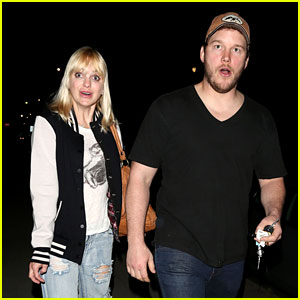 Anna Faris & Chris Pratt: Birthday Party Pair!