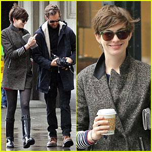Anne Hathaway: Zach Braff Mistaken for My Ex-Boyfriend!