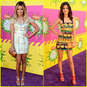 Ashley Tisdale & Victoria Justice - Kids' Choice Awards 2013
