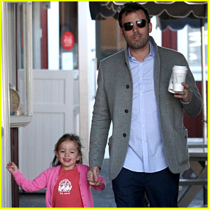 Ben Affleck: Breakfast Stop with Seraphina!