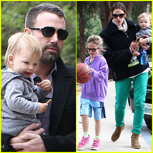 Ben Affleck & Jennifer Garner: Family Park Day!