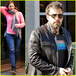 Jennifer Garner & Ben Affleck: Separate City Outings