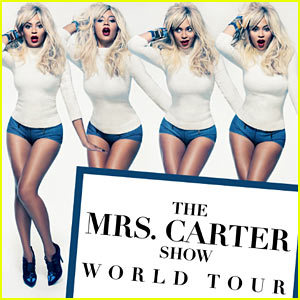 Beyonce: Blonde for Mrs. Carter Show World Tour Promo Pic!