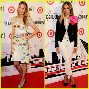 Blake Lively & Sarah Jessica Parker: Target Canada Launch!