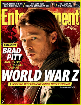 Brad Pitt Covers 'Entertainment Weekly'