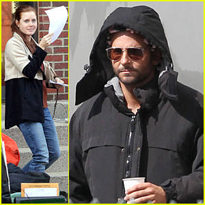 Bradley Cooper: Hair Rollers on 'Untitled David O. Russell/Abscam Project'!