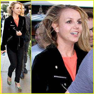 Britney Spears: Las Vegas Weekend with David Lucado!