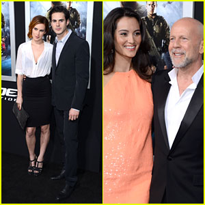 Bruce Willis: 'G.I. Joe' Premiere with Rumer & Jayson Blair!
