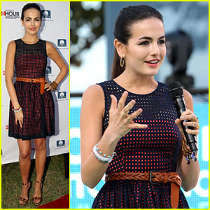 Camilla Belle: 24 Hour Runway Show Gal!