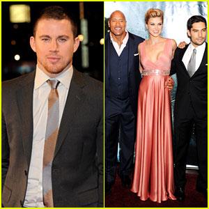 Channing Tatum: 'G.I. Joe: Retaliation' London Premiere!