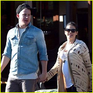 Channing Tatum & Jenna Dewan: Lunch & Coffee Dates!
