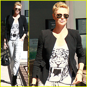 Charlize Theron Talks More Children!