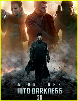 Chris Pine & Benedict Cumberbatch: 'Star Trek Into Darkness' Poster & Trailer!