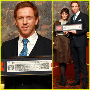 Damian Lewis: Freedom of the City of London Award Recipient!