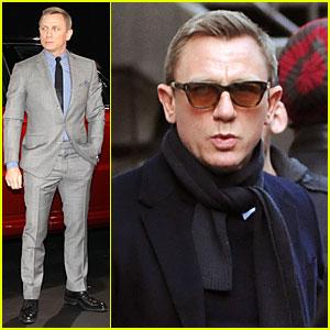 Daniel Craig: Range Rover Sport Premiere!