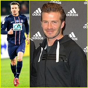 David Beckham: Adidas Autograph Session!