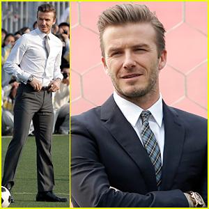 David Beckham: Beijing Guo'an Football Club Visit!