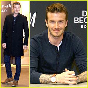 David Beckham: H&M Bodywear Promotion in Berlin!