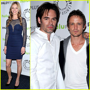 David Lyons & Tracy Spiridakos: 'Revolution' PaleyFest Panel!