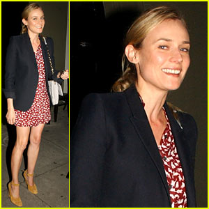 Diane Kruger: Dinner Night Out in Los Angeles!
