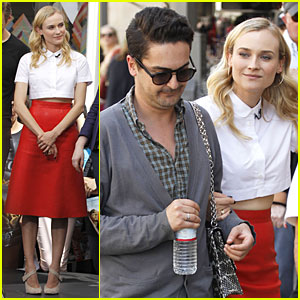 Diane Kruger: 'Extra' Interview For 'The Host'