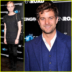 Diane Kruger & Joshua Jackson: 'The Host' NYC Screening!