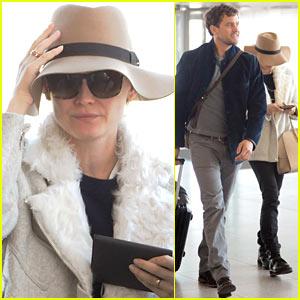 Diane Kruger & Joshua Jackson: Bye Bye, Big Apple!