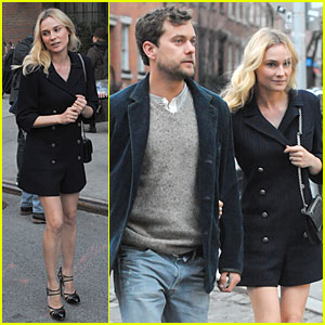 Diane Kruger & Joshua Jackson: West Village Dinner Date!
