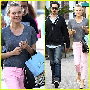 Diane Kruger: Pink Shopping Day!