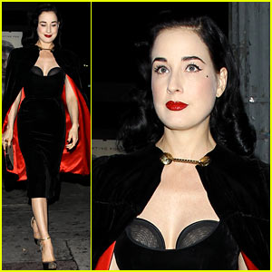 Dita Von Teese: I Know How to 'Twerk'!