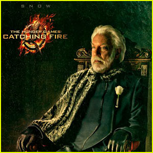 Donald Sutherland: 'Hunger Games: Catching Fire' Snow Portrait!