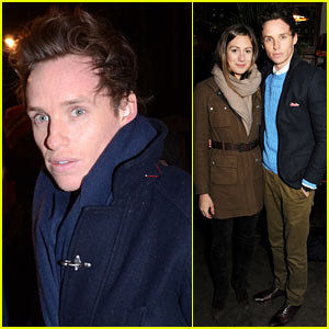 Eddie Redmayne: 'Peter & Alice' After Party with Hannah Bagshawe