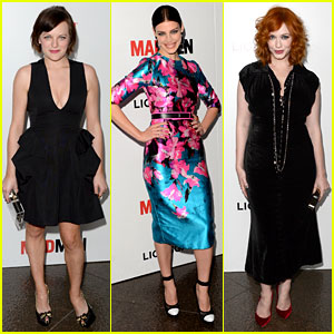 Elisabeth Moss & Christina Hendricks: 'Mad Men' Premiere!