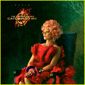 Elizabeth Banks: 'Hunger Games: Catching Fire' Effie Portrait!