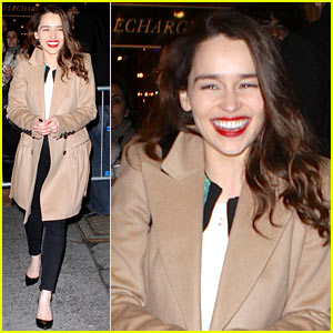 Emilia Clarke: 'Breakfast at Tiffanys' is 'Joy, Joy, Joy'!