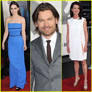 Emilia Clarke: 'Game of Thrones' Season 3 Premiere Party!