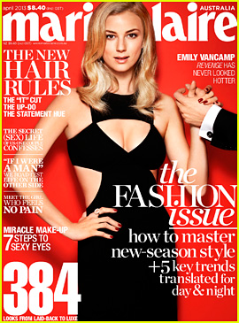Emily VanCamp Covers 'Marie Claire Australia' April 2013