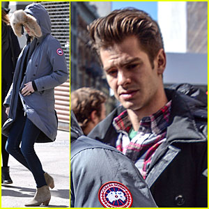 Emma Stone & Andrew Garfield: Low Profile New York Outing!