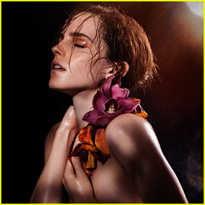 Emma Watson: Topless for Global Green USA & Natural Beauty!