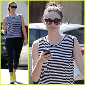 Emmy Rossum: Hollywood Hills Hike!
