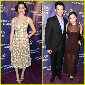 Emmy Rossum: A Night at Sardi's for Alzheimer's Association!
