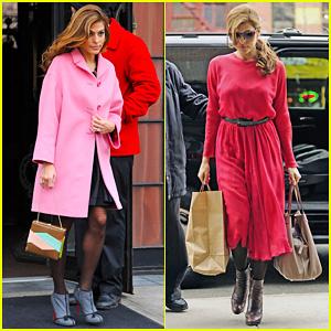 Eva Mendes: Lady In Pink