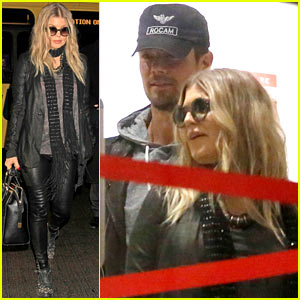 Fergie & Josh Duhamel: Baby on Board at LAX!
