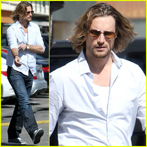 Gabriel Aubry: Sunset Plaza Lunch!