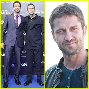 Gerard Butler Does Yoga, Cleanses, & Cardio Workouts!