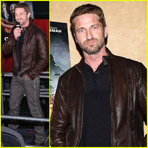 Gerard Butler: 'Olympus Has Fallen' Screening &#038; Q&#038;A!