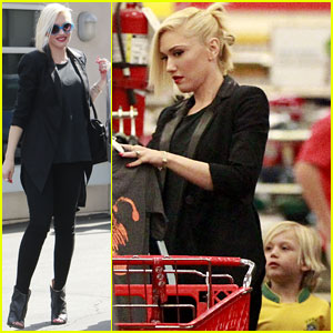 Gwen Stefani: Target Trip with Kingston & Zuma!