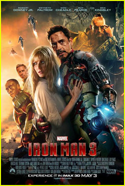 Gwyneth Paltrow & Robert Downey, Jr.: 'Iron Man 3' International Poster!