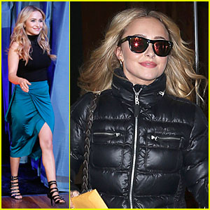 Hayden Panettiere: 'Nashville' Promotion on 'Fallon'