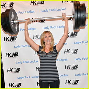 Heidi Klum: New Balance Collection Launch!